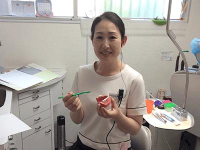 歯科衛生士・村田由美子